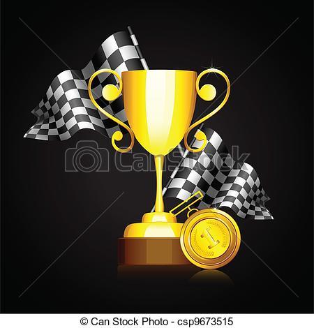 Formula 1 clipart trophy Clipart of Gold Trophy Trophy