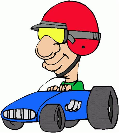Race Car clipart car driving Driver Download Clip Cartoon Free