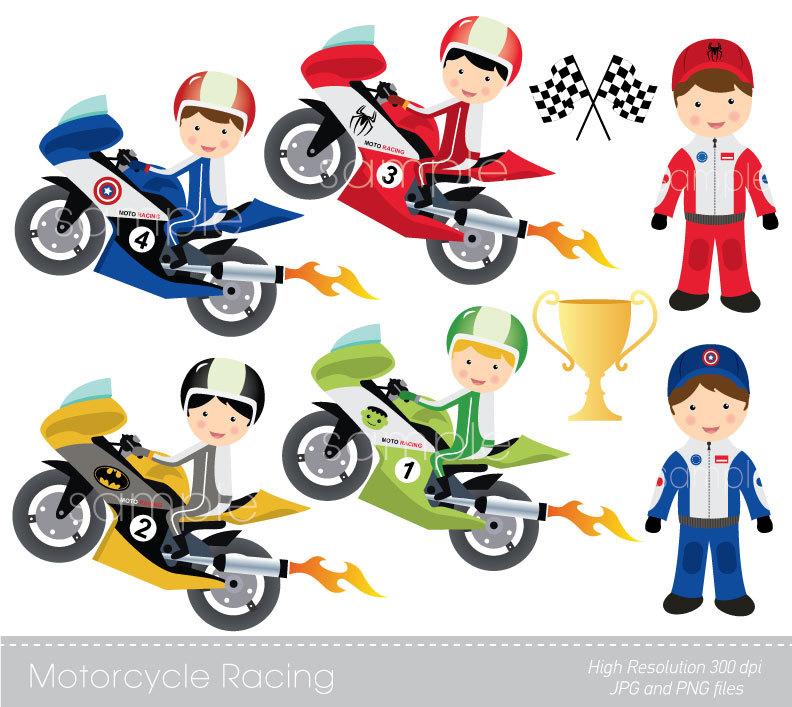 Yamaha clipart motor racing Cards Invitations Etsy Making crafts