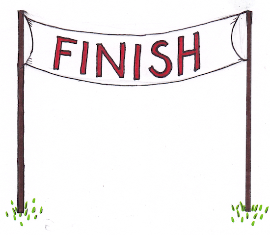 Racer clipart finish line  Line free Free Cliparts