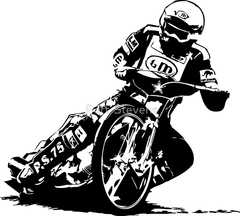 Racing clipart speedway Port Stevens Stevens Motorcycle Redbubble
