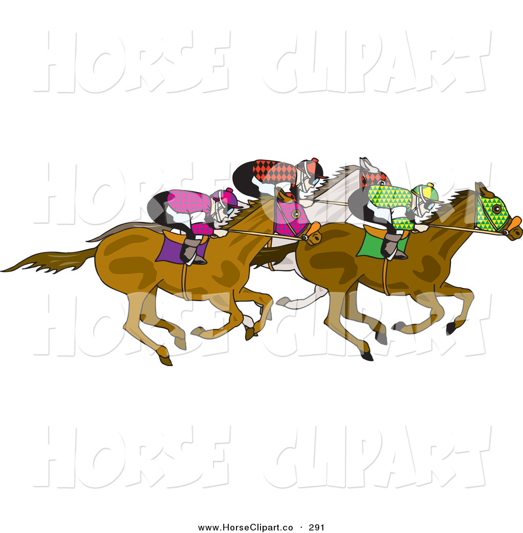 Horse Racing clipart christmas On White Horses of Their