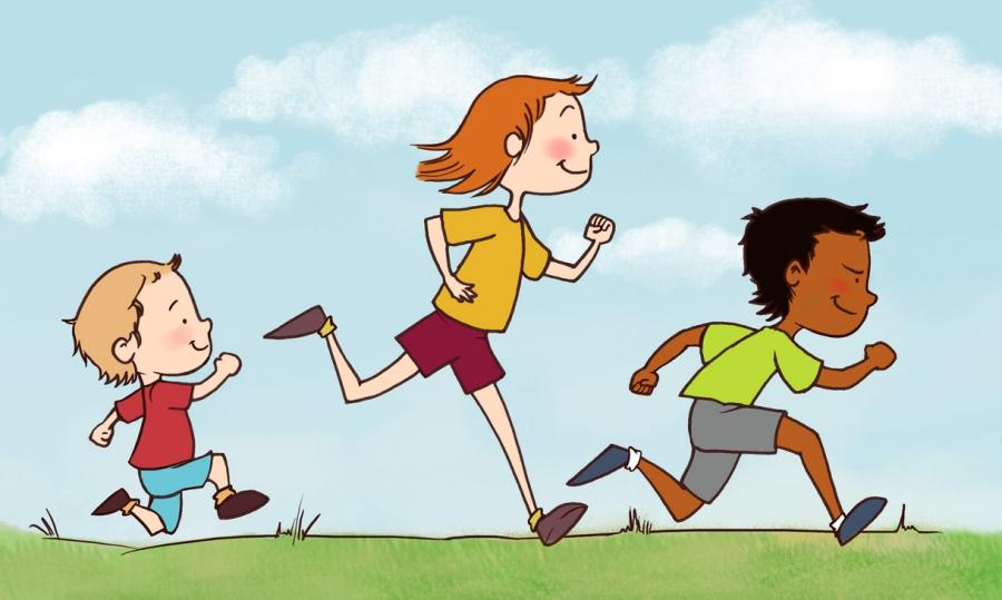 Racing clipart kids run Term2 School Lady Week02 Counsel