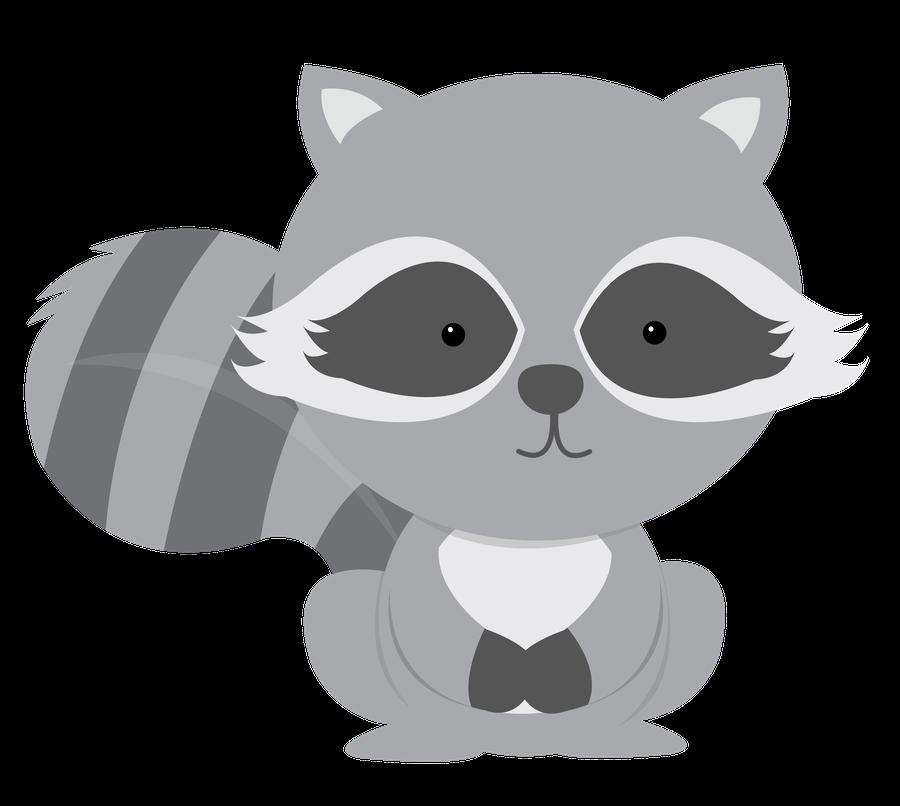 Raccoon clipart woodland Festa Raccoons Hello! Pinterest Say