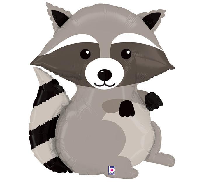 Raccoon clipart woodland Balloon Ruffles 36
