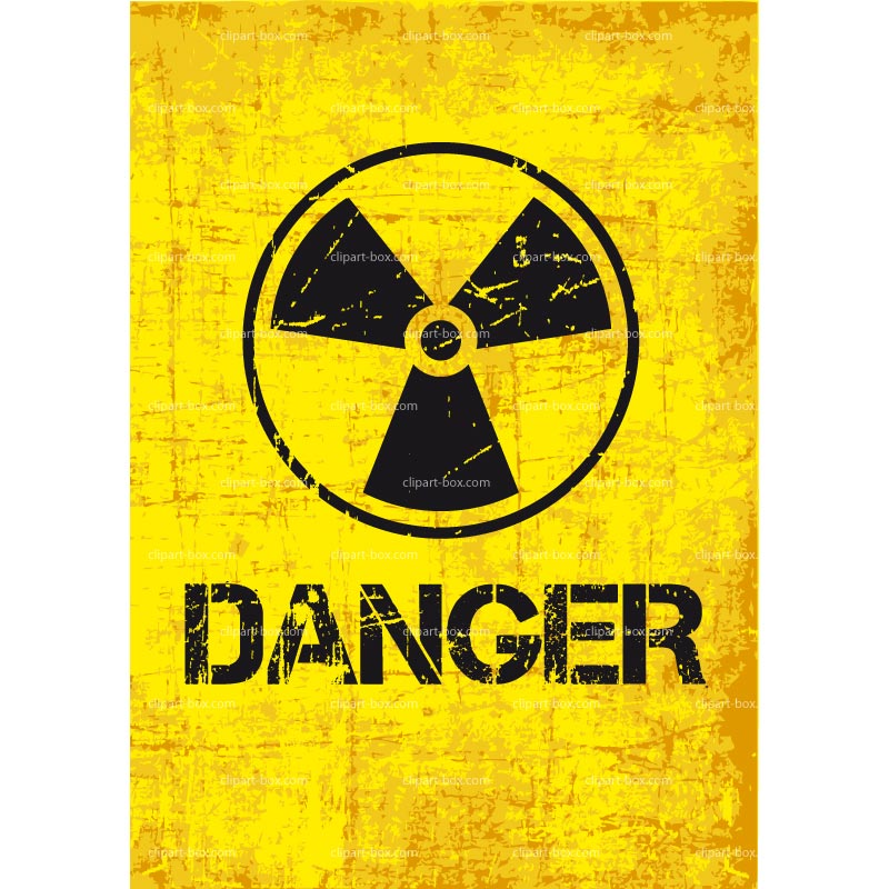 Radioactive clipart radioactivity Radiation Art – Hazard Clip
