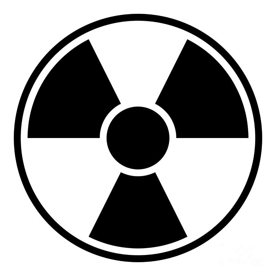 Radiation clipart #6