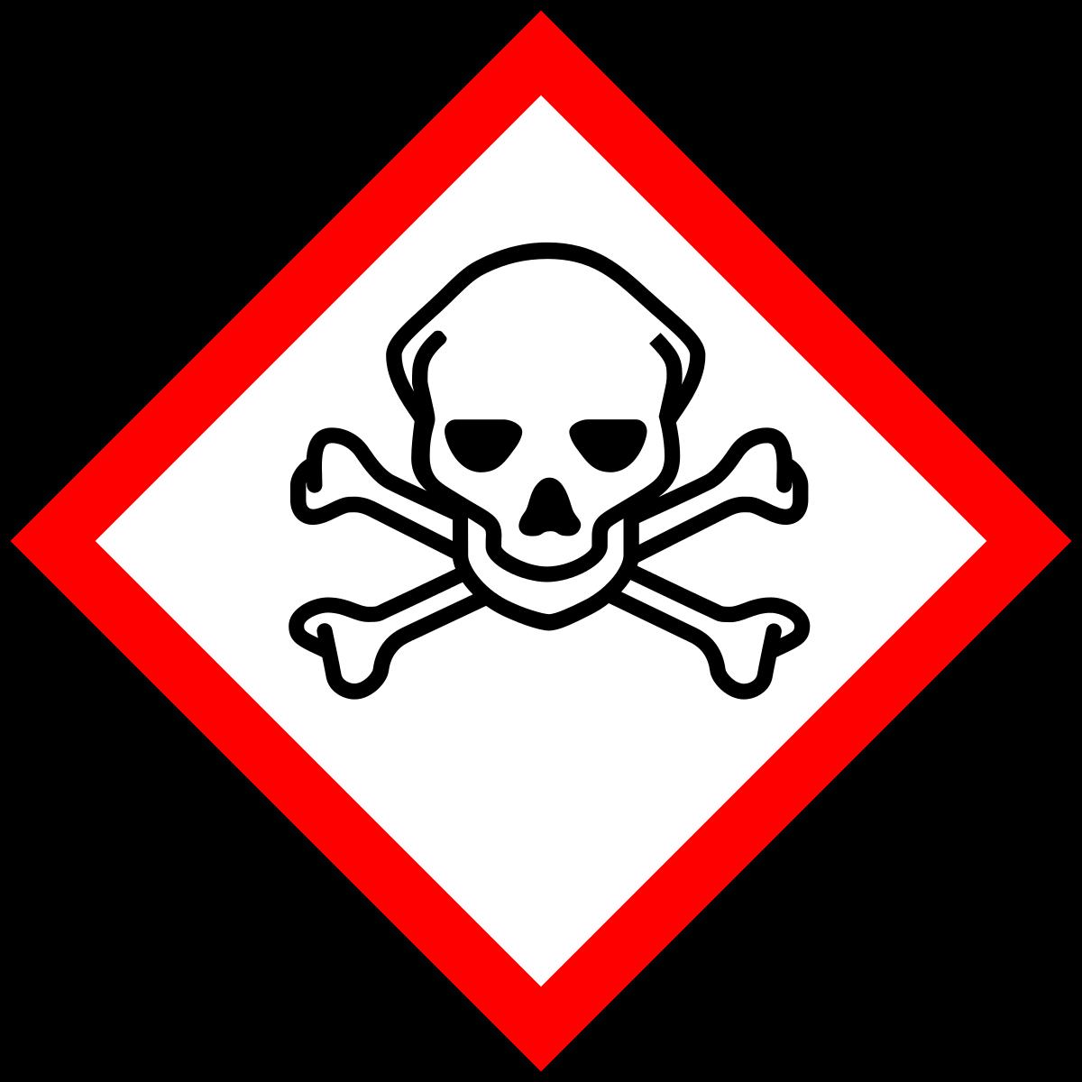 Toxic clipart health hazard Symbol  Wikipedia Hazard