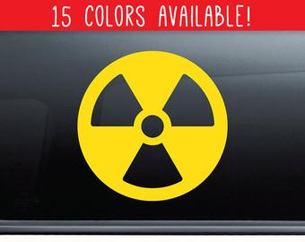Radiation clipart fallout Nuclear Bumper Car Fallout radiation