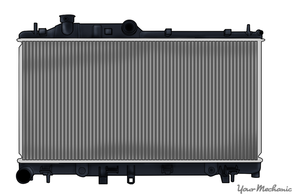 Radiator clipart car radiator Replace Advice How YourMechanic car