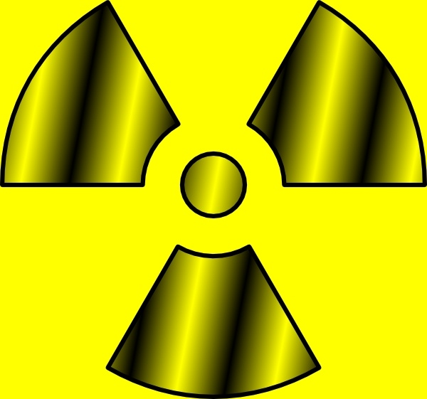 Radioactive clipart Svg clip Free vector Radioactive