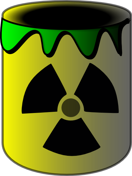Radioactive clipart Online image at Clker Toxic