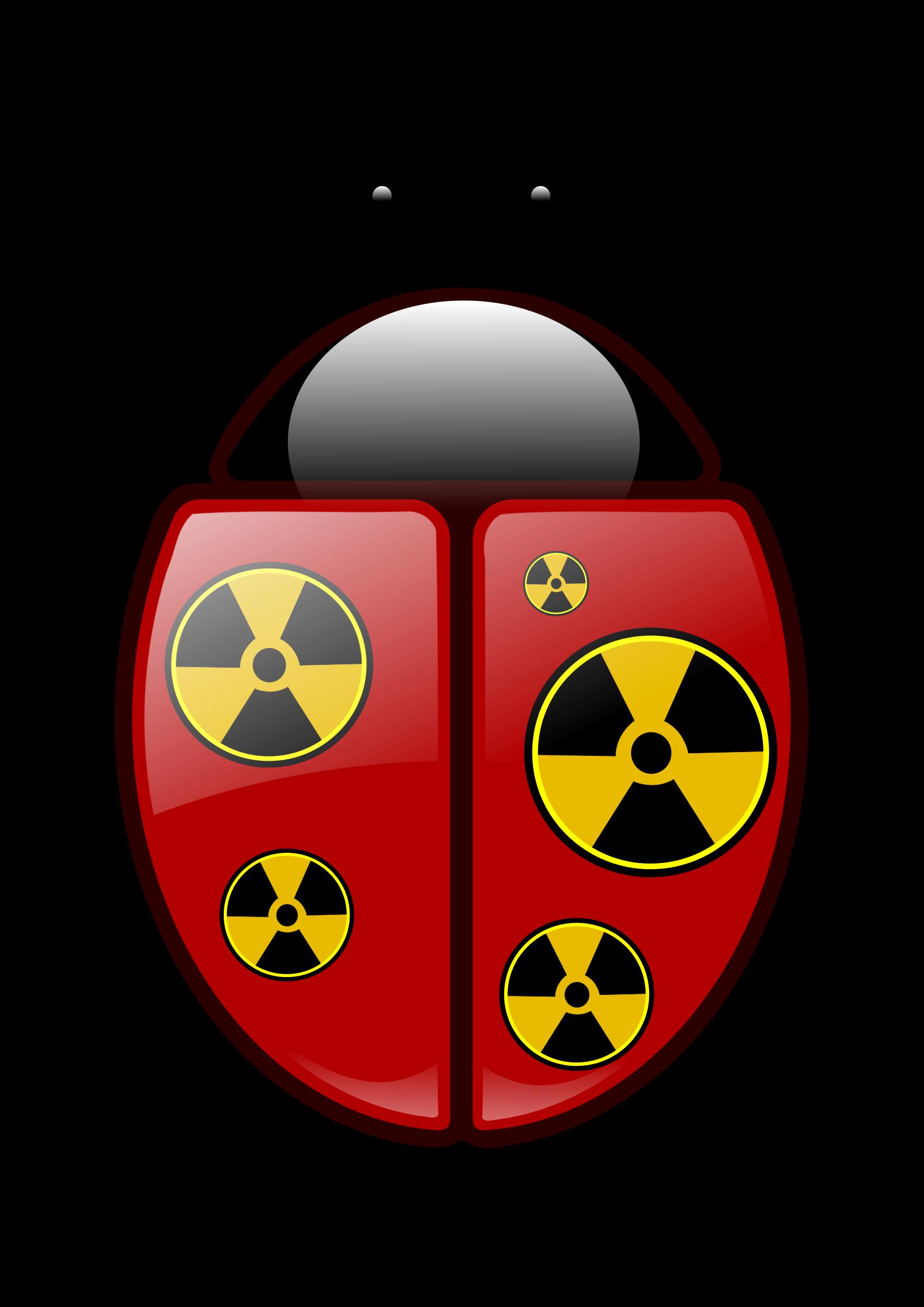 Radioactive clipart Clipart Ladybug Ladybug Radioactive Radioactive