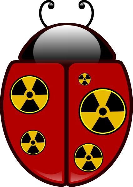 Radioactive clipart cool music Ladybug Download Clip Art Radioactive