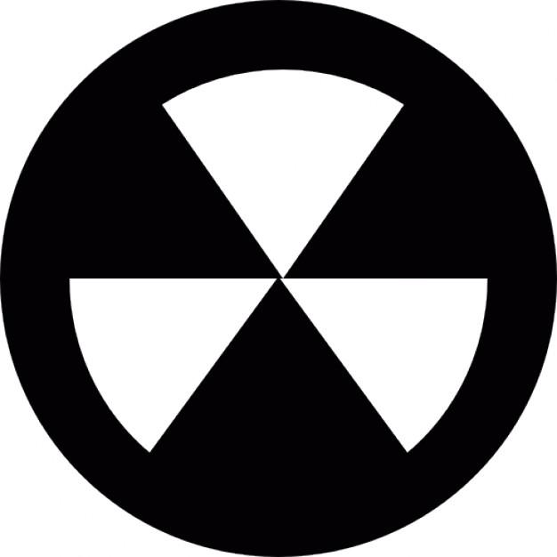 Radioactive clipart emblem Vectors radioactive Biological Radioactive Free