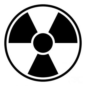 Radioactive clipart emblem Vinyl Anonymous RADIOACTIVE Badge sticker