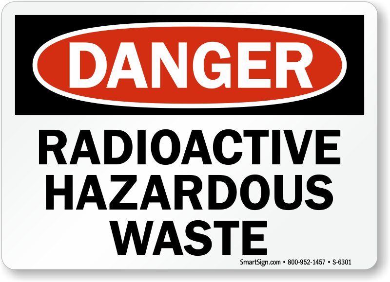 Radioactive clipart hazard sign Radioactive – Warnings Material Zoom