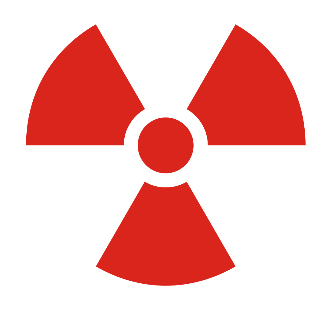 Radioactive clipart red File:Radioactive Commons Wikimedia File:Radioactive svg