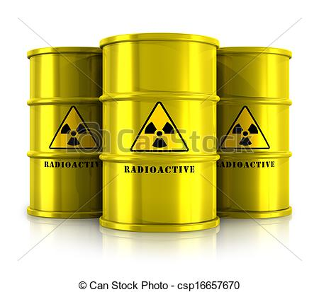 Radioactive clipart toxin Radioactive waste with Illustrations waste