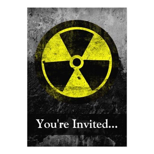 Radioactive clipart zombie apocalypse Card  radioactive Zombie Symbol