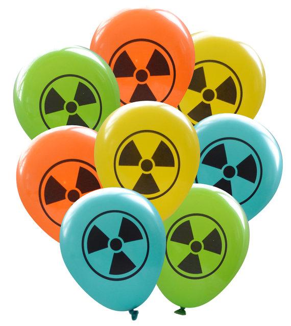 Radioactive clipart zombie apocalypse Party Geeky Scientist Symbol 8