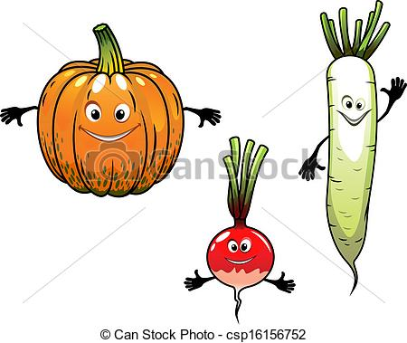 Radish clipart turnip Csp16156752  vegetables Vector of