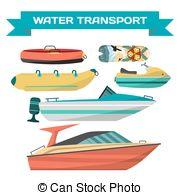 Raft clipart sea transportation Transportation; on jet of Art