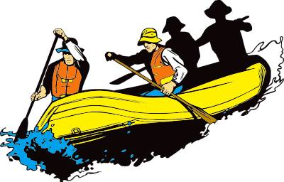Rafting clipart silhouette Images rafting%20clipart Free Rafting Clipart