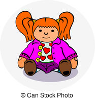 Ragdoll clipart  Rag Stock doll to