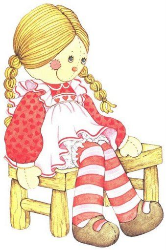 Doll clipart country Pinterest rag images Ann 140