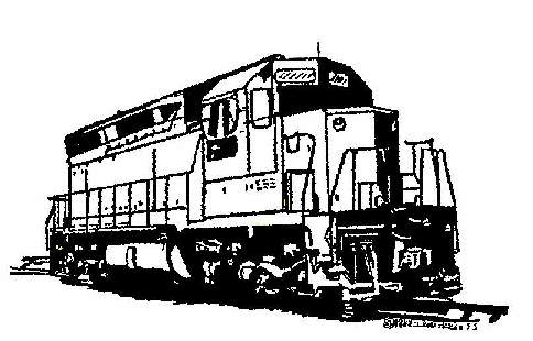 Railways clipart locomotive  tracks railroad Clip clipart