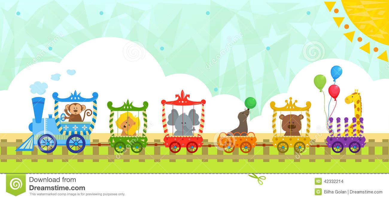 Baby Animal clipart train Train Train (21+) clip animal
