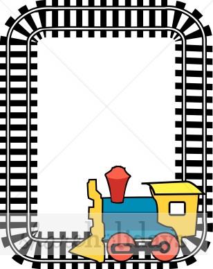 Train clipart frame #3