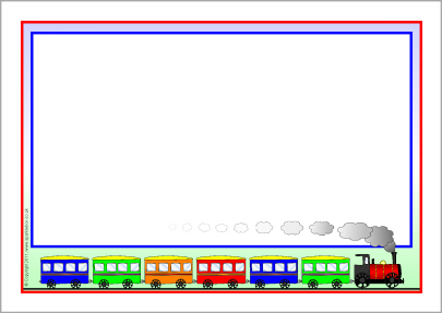 Train clipart frame #2