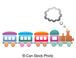 Background clipart train  of on Train Vectors