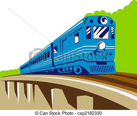 Drawn train passenger train Of train Illustration Passenger Passenger