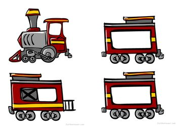 Train clipart number train #4