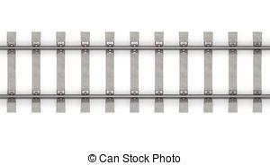 Rails clipart background Horizontal Clipart 16 3d Rails