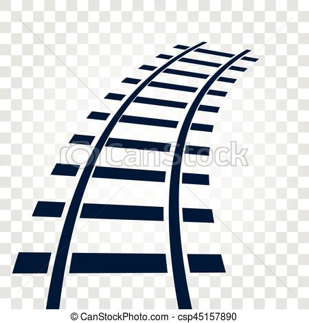 Rails clipart background Illustrations EPS Vectors elements Isolated