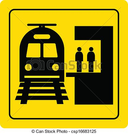 Stop clipart railroad You railway station station Railway