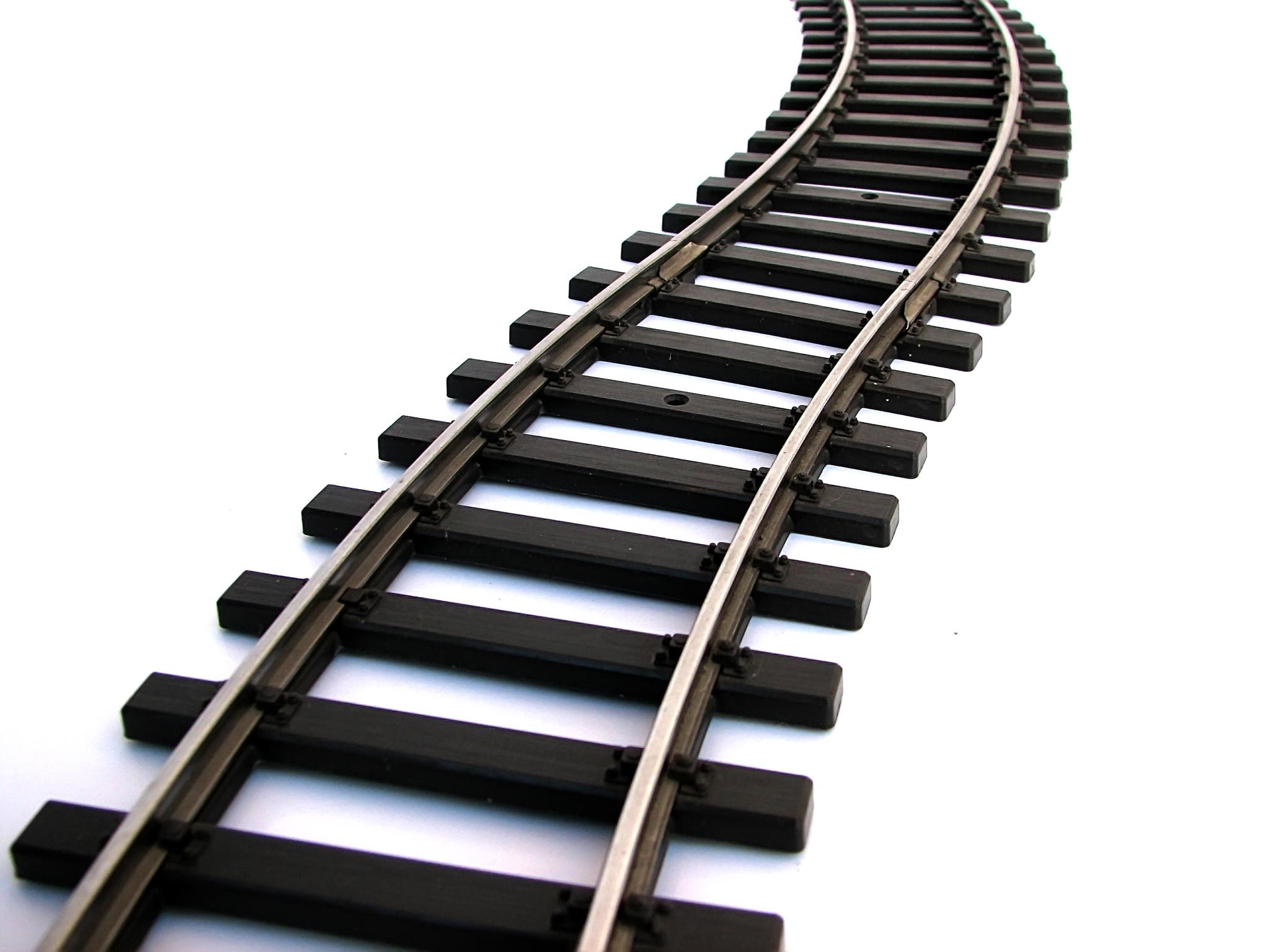 Train clipart curved #2