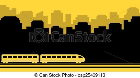 Railways clipart background Background railway transport Vector Clip