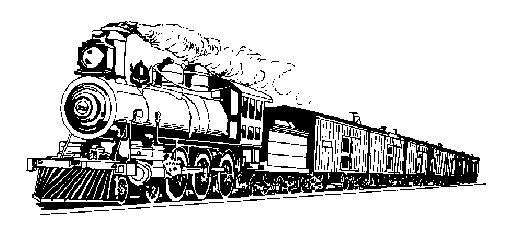 Train clipart industrial revolution #6