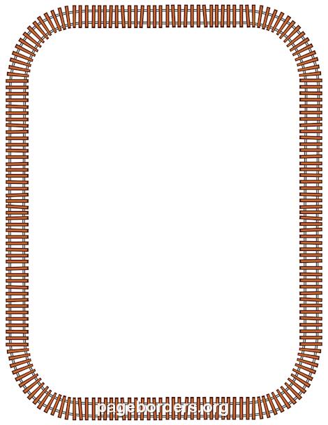Train clipart frame #5