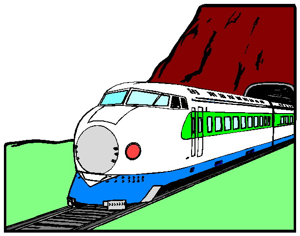 Railways clipart cartoon #4