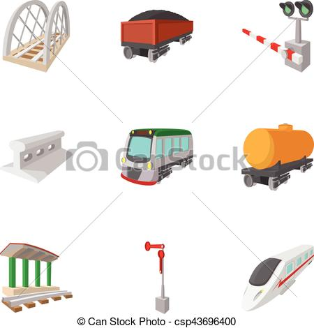Railways clipart cartoon #15