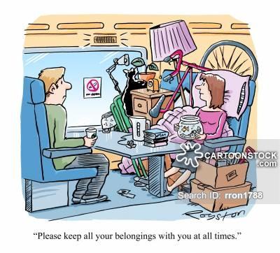 Railways clipart commuter CartoonStock of 3 Railway Cartoons