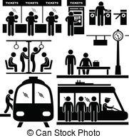 Railways clipart commuter Vector Art Rail 659