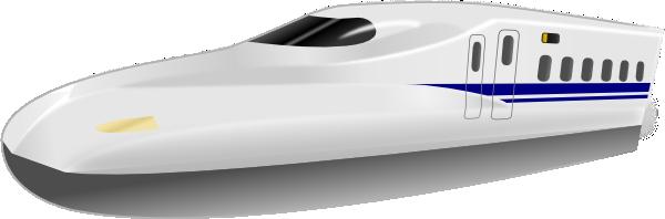 Railways clipart high speed train #5