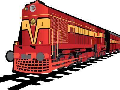 Railways clipart indian railway #11